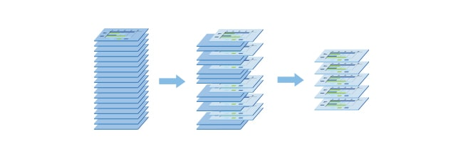 graphic illustration of data organization